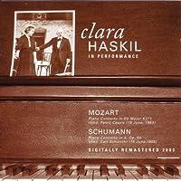 クララ・ハスキル協奏曲集:1モーツァルト:ピアノ協奏曲第9番変ホ長調K271