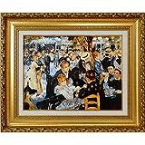 ルノワール[世界の名画コレクション]『ムーラン・ド・ラ・ギャレットの舞踏会』複製画 風景画 人物画 風俗画 印象派 印象主義 ルノアール モンマルトル パリ ダンスホール 風車 フランス絵画 西洋画 世界の名画【複製・絵画】【B5602】