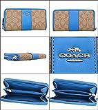 [コーチ] COACH 財布 (長財布) F54630 カーキ×ブライトブルー SVNJJ シグネチャー 長財布 レディース [アウトレット品] [ブランド] [並行輸入品]