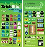BrickStix TOWN Reusable Stickers