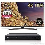 LG 55V型 4K 液晶テレビ HDR対応 55UJ630A(2017年モデル)(フルHDアップコンバート対応ブルーレイプレーヤー HDMIケーブル付属 Wi-Fi内..