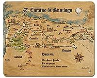 セントジェームスのマウスパッド方法–EL CAMINO DE SANTIAGO Anno 1445、ジョンメランティン( 9x 7インチ
