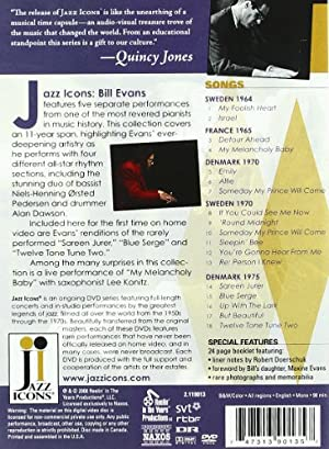 Jazz Icons: Bill Evans Live '64 - '75 [DVD] [Import]