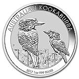 オーストラリア クッカバラ ワライカワセミ 銀 2017年 1オンス Silver Coin 銀貨 31.1g シルバー コイン 純銀 カプセル クリアーケース付き