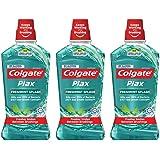 Colgate Plax Freshmint Mouthwash 1L [Bundle of 3] Value Deal