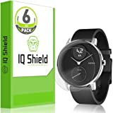 IQ Shield Screen Protector Compatible with Nokia Steel HR (36mm)(6-Pack) LiquidSkin Anti-Bubble Clear Film