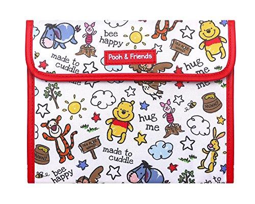 母子手帳ケース バッグタイプ マルチケース くまのプーさん