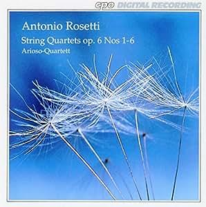 レスレル [ロゼッティ]:弦楽四重奏曲集Op.6