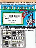 エデュアルド 1/72 ズームエッチングシリーズ 川西 二式大艇用 ハセガワ用 プラモデル用パーツ EDUSS592