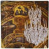 3drose Ceiling and Chandeliers Lustre, Chateau De Versailles, France - Mouse Pad [並行輸入品]