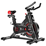Exercise Bike Spin Flywheel Training Fitness Equipment Home Gym Cardio - Black
