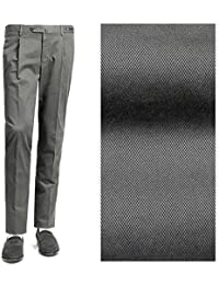 PT01 ピーティーゼロウーノ / 【国内正規品】 18-19AW!製品染めコットンストレッチギャバジン1プリーツパンツ『ELEGANCE of IRONY(EVO FIT)』 (グレー) メンズ