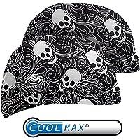 Shinobu Constraction 吸汗速乾 COOLMAX ヘルメット インナーキャップ