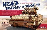 モンモデル 1/35 M2A3 ブラッドレー BUSKIII フルインテリア プラモデル