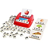 BOHS Literacy Wiz Fun Game - Upper Case Sight Words - 60 Flash Cards - Preschool Language Learning Educational Toys