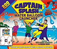 200 Yard Water Balloon Launcher By Captain Splash, 150 Free Water Balloons And Carry Case, 3 Person Extreme Launcher Slingshot by Vivorr [並行輸入品]