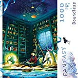 Ingooood- Jigsaw Puzzles 1000 Pieces for Adult- Fantasy Series- Boundless_IG-0407 Entertainment Wooden Puzzles Toys