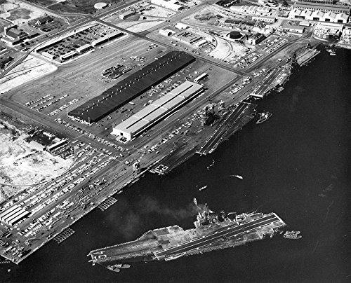 USS Ticonderoga ( cvs-14)、USS - Support Hawk (キティホーク) and Constellation (コンステレーション) 8