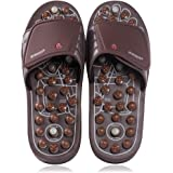 BYRIVER Therapeutic Acupuncture Massage Flip Flops Slippers Foot Relaxation Tools Plantar Fasciitis Massager (03M)