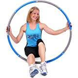 ResultSport The Original Foam Padded Level 3 Weighted 2.0kg (4.40lb) Fitness Exercise Hoop 100cm Wide