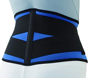 bonbone 腰コルセット スポーツWウエスト806  ブルー M