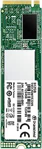 Transcend PCIe M.2 SSD (2280) 512GB NVMe PCIe Gen3 x4 DRAMキャッシュ搭載 3D NAND採用 TS512GMTE220S