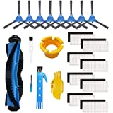 Theresa Hay Accessories Kit for eufy RoboVac 11S, RoboVac 30, RoboVac 30C, RoboVac 15C, Accessory Robotic Vacuum Cleaner Filt