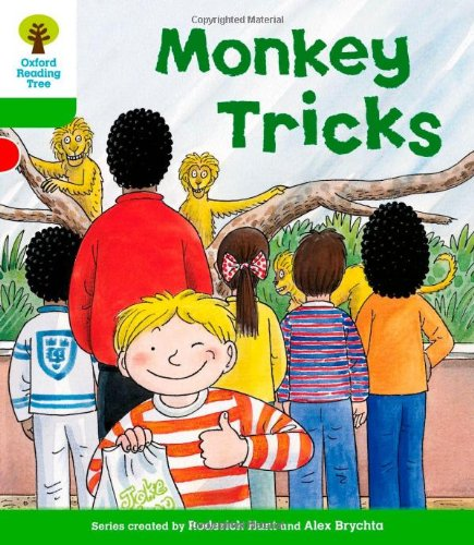Oxford Reading Tree: Level 2: Patterned Stories: Monkey Tricksの詳細を見る