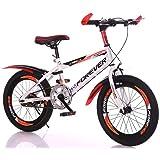 MW Kids Bike for Boys and Girls,Mountain Bike,Road Bicycle,18/20 Inch Mountain Bike 9-16 Years Old Children Carriage Boy Pupi
