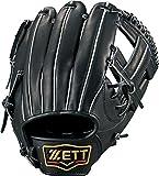 ZETT(ゼット) 野球 硬式 グラブ (グローブ) プロステイタス セカンド・ショート 右投用 オレンジ(5600) LH BPROG64