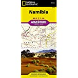 National Geographic Adventure Travel Map Namibia Africa (Nat…