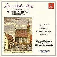 J.S.バッハ:4つのミサ曲 BWV233-236、サンクトゥス BWV238