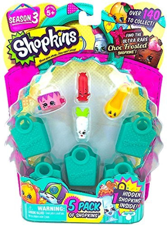 Shopkins Season 3 (5 Pack) Set 11 [並行輸入品]