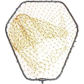 太パイプ径10mm 網 玉枠セット 68×59cm ランディングネット ガンメタ LLサイズ アルミフレーム