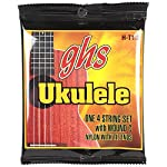 GHS H-T10/Hawaiian Tenor Ukulele Black Nylon ウクレレ弦×3セット