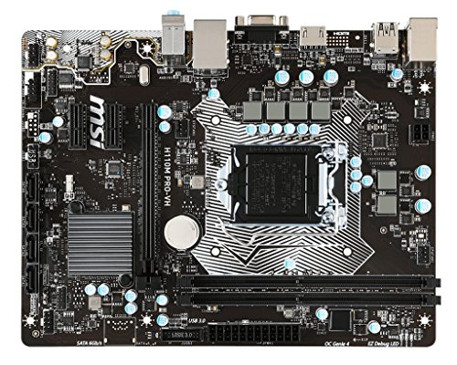 MSI H110M PRO-VH Intel H110チップセット搭載Micro ATXマザーボード (D-SUB HDMI) MB3512 H110M PRO-VH