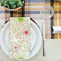 artzfolio Dandelionテーブルナプキンサテン生地 16inch x 16inch; SINGLE PIECE AZKIT7099384NAP_TB_L_01-S1_SN