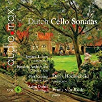 Various: Dutch Cello Sonatas