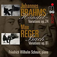 Variations & Fugues on Themes By Handel & Bach by SCHNURR WILHELM