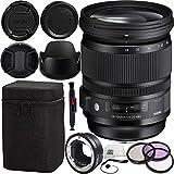 Sigma 24–105mm f / 4Dg OS HSM Artレンズfor Canon & MC - 11マウントコンバータ/レンズアダプタ( Canon EF - Sレンズto Sony E )..