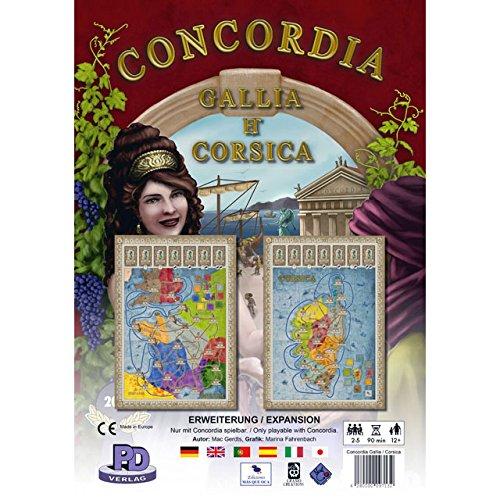 コンコルディア拡張マップ 「ガリア・コルシカ」