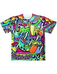 Graffit Art[Pt.2]【フルグラフィックTシャツ】 カジュアル フルカラー ドライ素材 格安