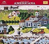 Charles Wysocki - Americana 2018 Calendar: With Envelope