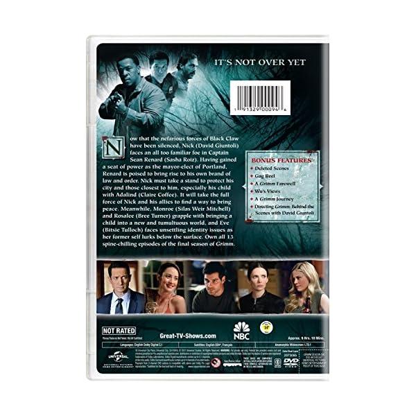 Grimm: Season Six [DVD]...の紹介画像2