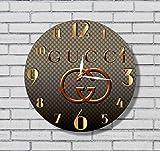 グッチ GUCCI Gucci 11'' 壁時計グッチ あなたの友人のための最高の贈り物。あなたの家のためのオリジナルデザイン