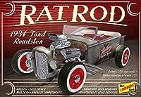 プラッツ 1/25 フォードロードスター ラットロッド 1934 プラモデル HL122