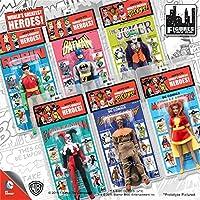 D.C Comics Retro Kresge Style Action Figure Series 3; 8 Inch action figures