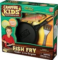 キャンプファイヤーキッズ魚フライ昆虫伝承