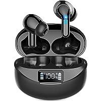 【2021業界登場 Bluetooth イヤホン&LEDディスプレイ残量表示】ワイヤレスイヤホン Ennice Blue…