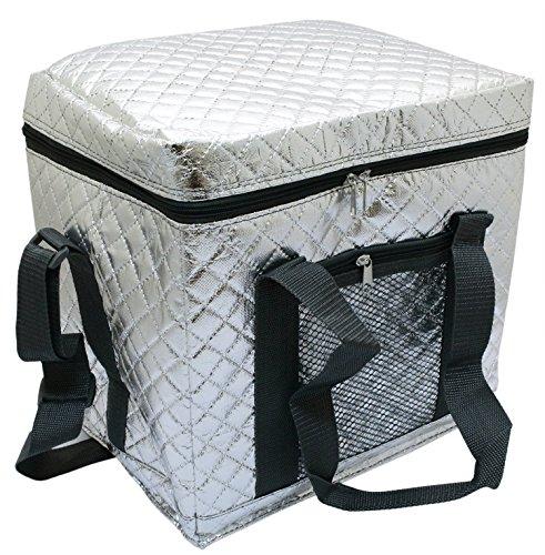 プロリーブ 折りたためるソフトクーラーバッグ保冷バッグ Lサイズ 1コ入